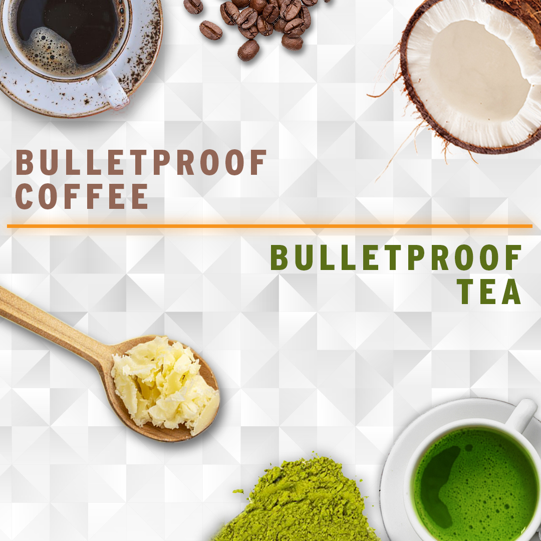 Bulletproof coffee ou tea